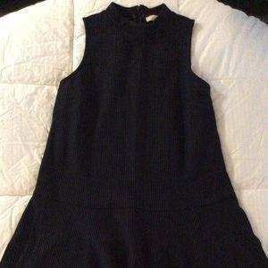 LOFT mock neck drop waist dress